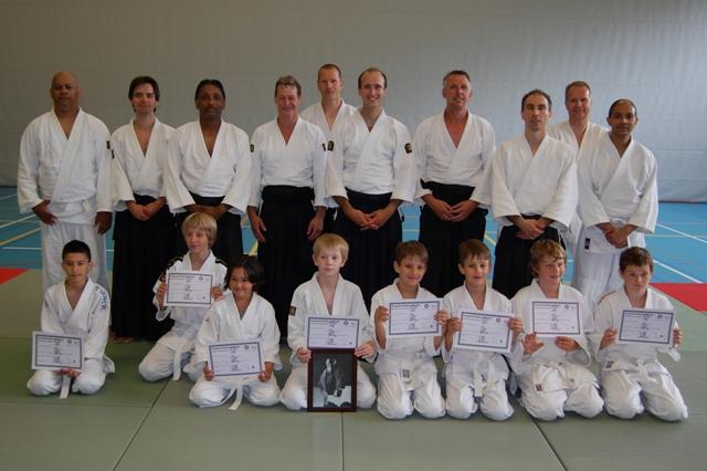 110619 Aikido Centrum Rotterdam examendag 19-6-2011