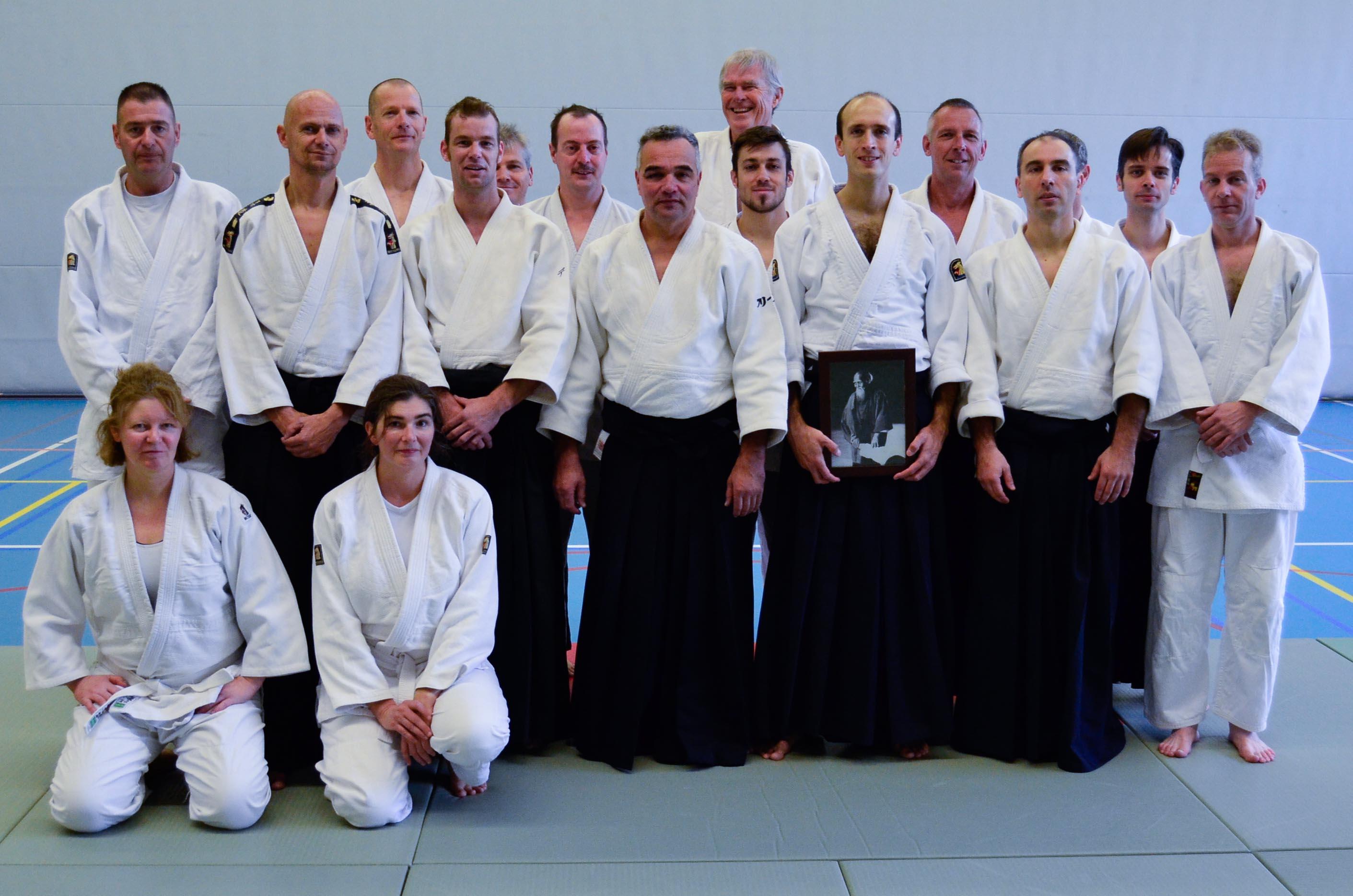 Groepsfoto Aikido Centrum Rotterdam: Open Dag 2013 met stage Wilko Vriesman dd 23-11-2013