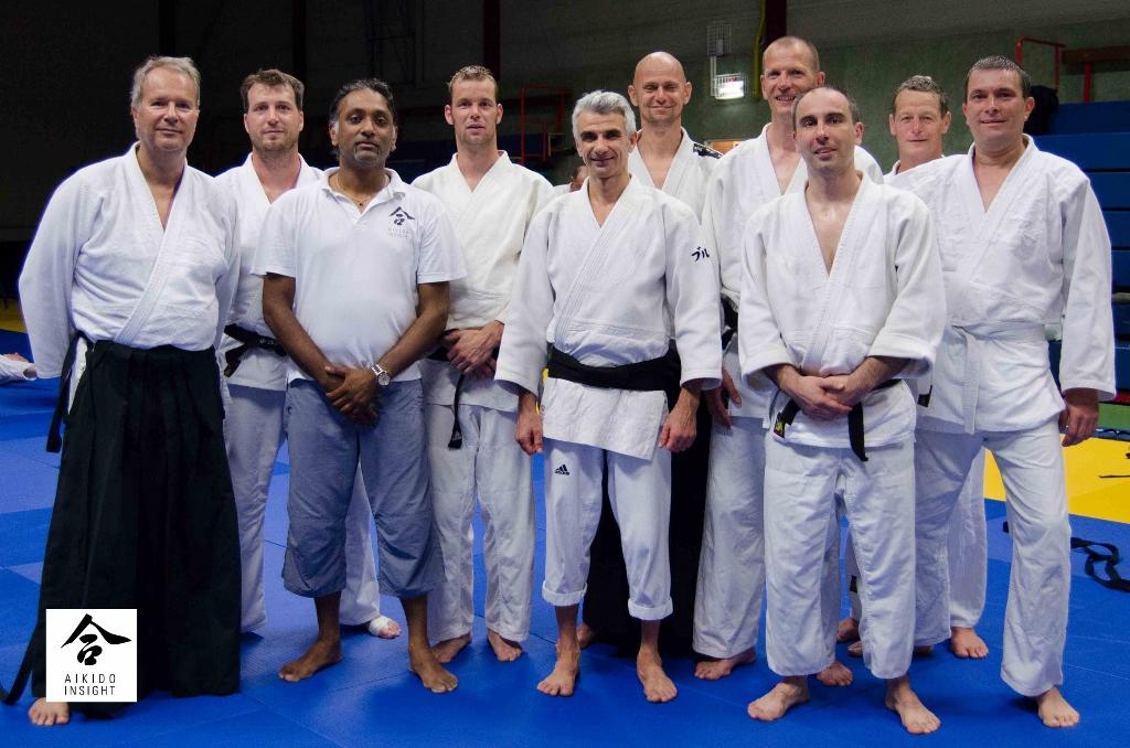 Groep Aikido Centrum Rotterdam @ DAF Zomerschool 2014 met Bruno Gonzalez