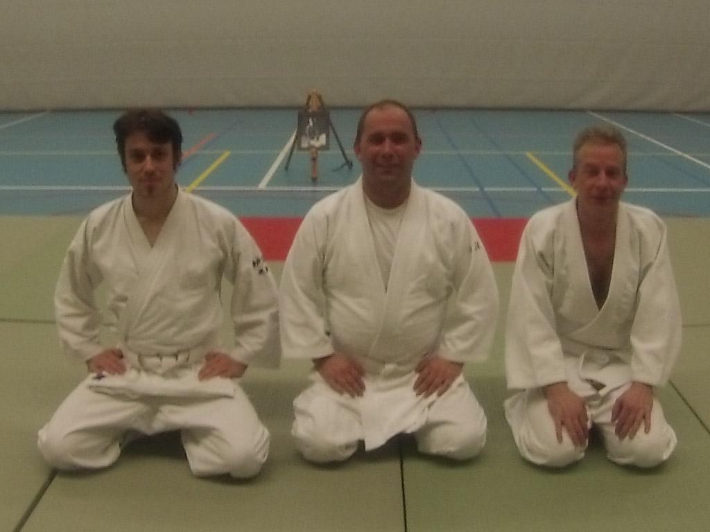 Aikido Centrum Rotterdam examens volwassenen d.d. 6-2-2014