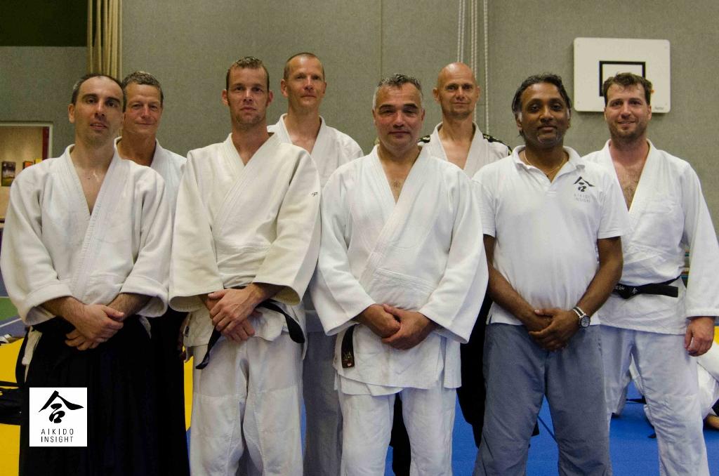 Groep Aikido Centrum Rotterdam @ DAF Zomerschool 2014 met Wilko Vriesman