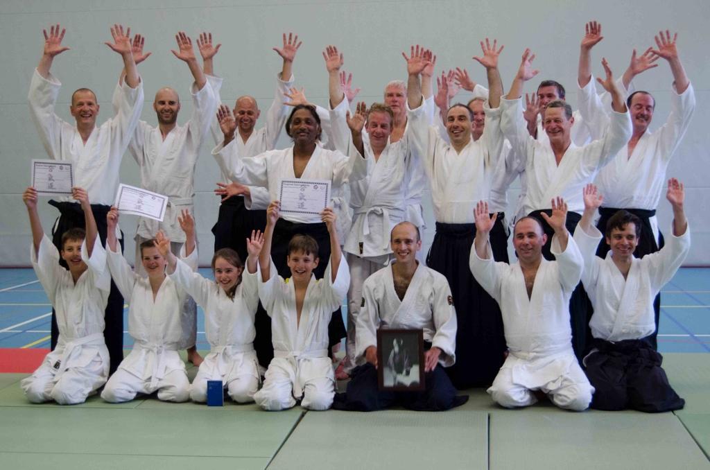Aikido Centrum Rotterdam Examendag 2014 | groepsfoto