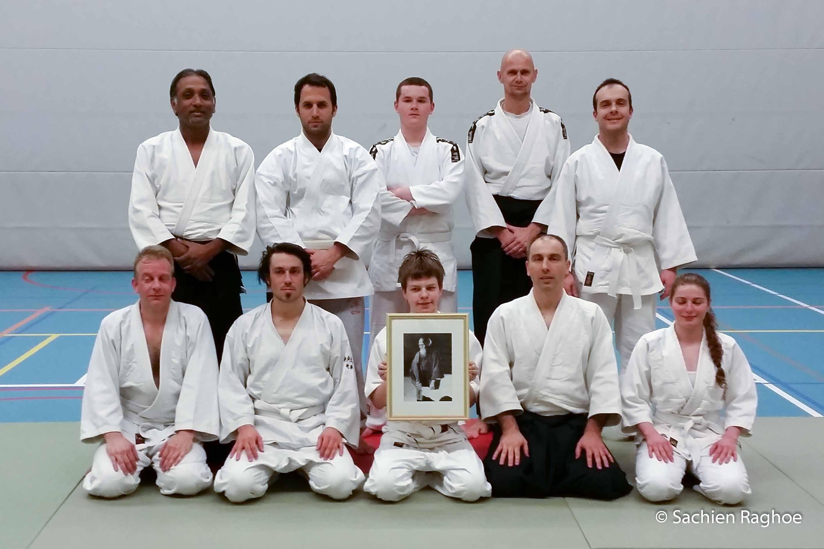 Aikido Centrum Rotterdam | halfjaarlijkse examens 1e lesuur | 29-1-2015