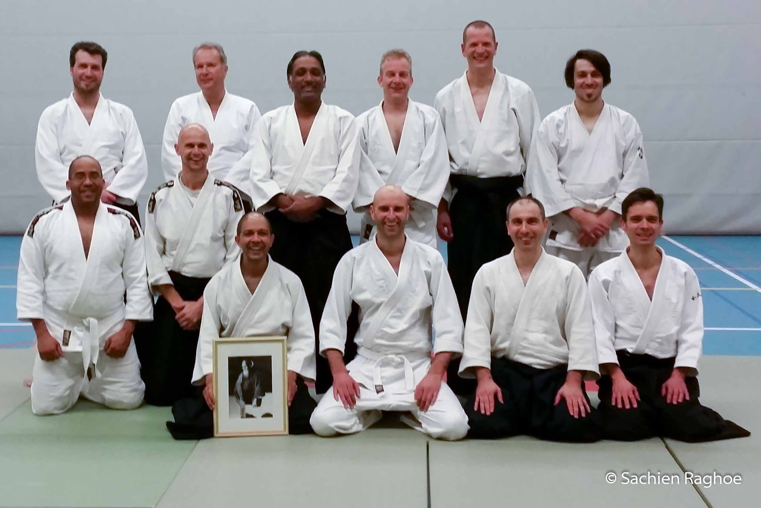 Aikido Centrum Rotterdam | halfjaarlijkse examens 2e lesuur | 29-1-2015
