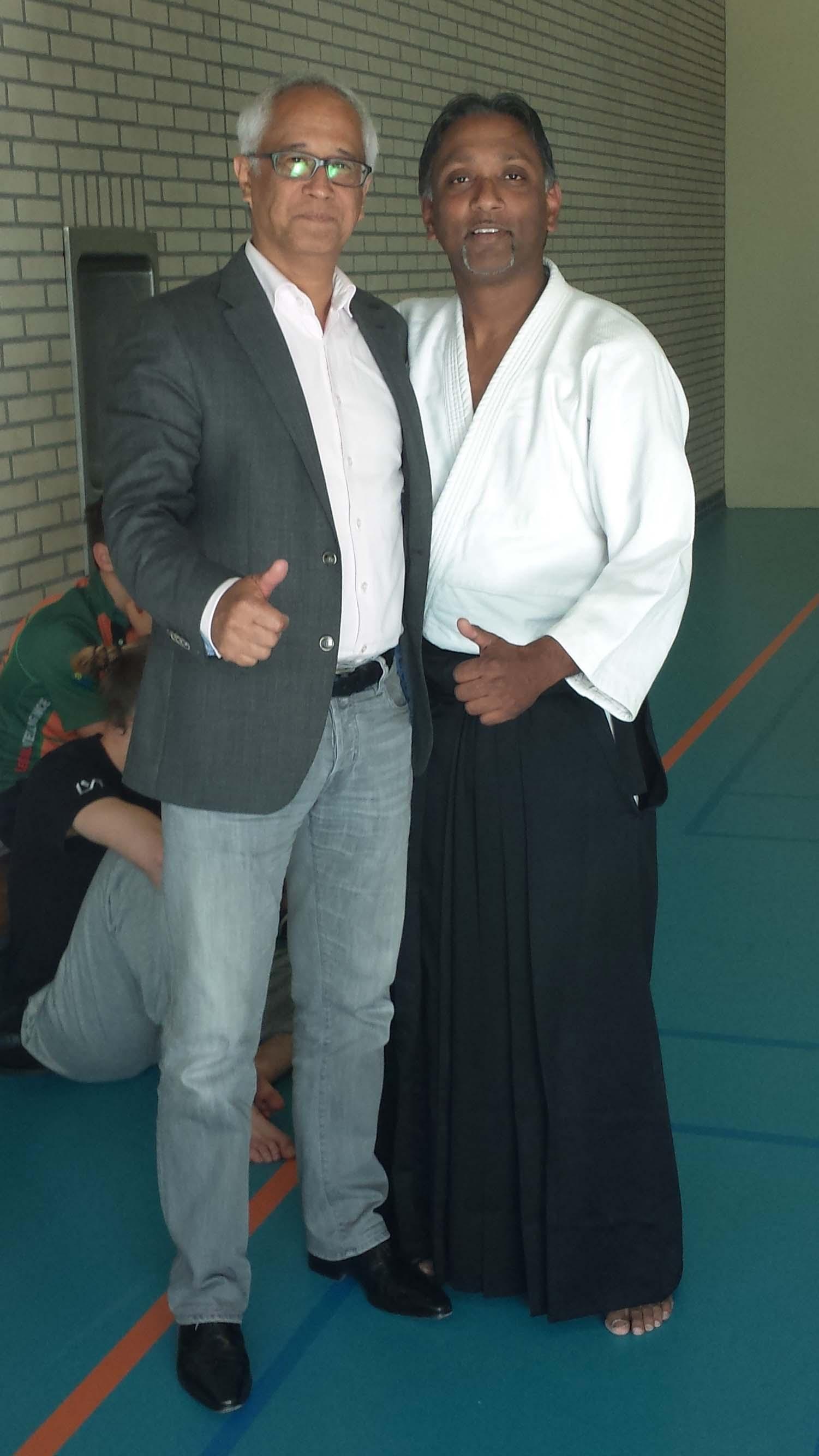 Voormalig dojohouder Reggie op bezoek in Rotterdam!