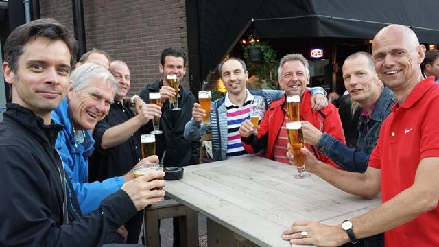 ACR laatste les op 9-7-2015 | drankje in Hillegersberg